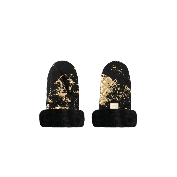 Afbeelding van B.O.S. : Stroller Handmuff - Black Golden Collection